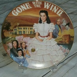 Tara: Scarlett's True Love musical plate